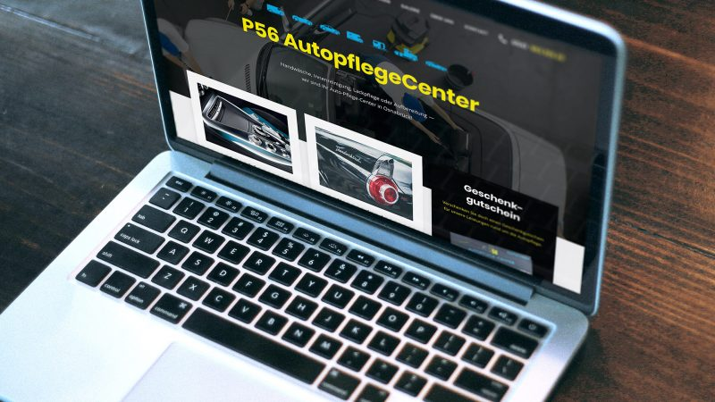 Autopflegecenter P56 Webseite erstellen
